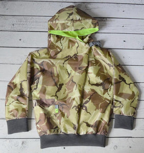 CAMO SHOWERPROOF JACKET - SOLD OUT