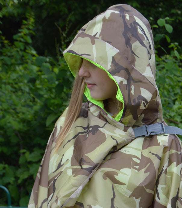 CAMO SHOWERPROOF JACKET