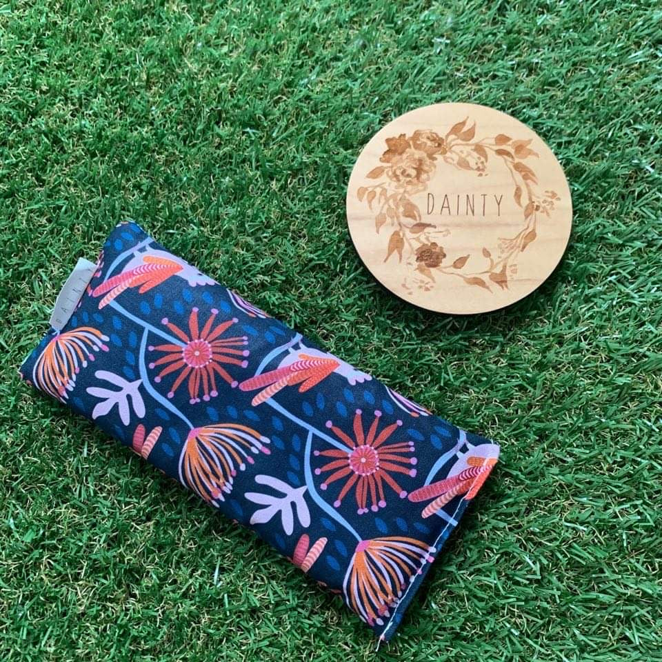 Eye Pillow - Navy Galah