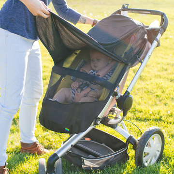 Pushchair UV (UPF33) Mosquito Net