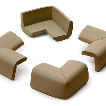 Cushiony corner GUARDs (4)  Chocolate