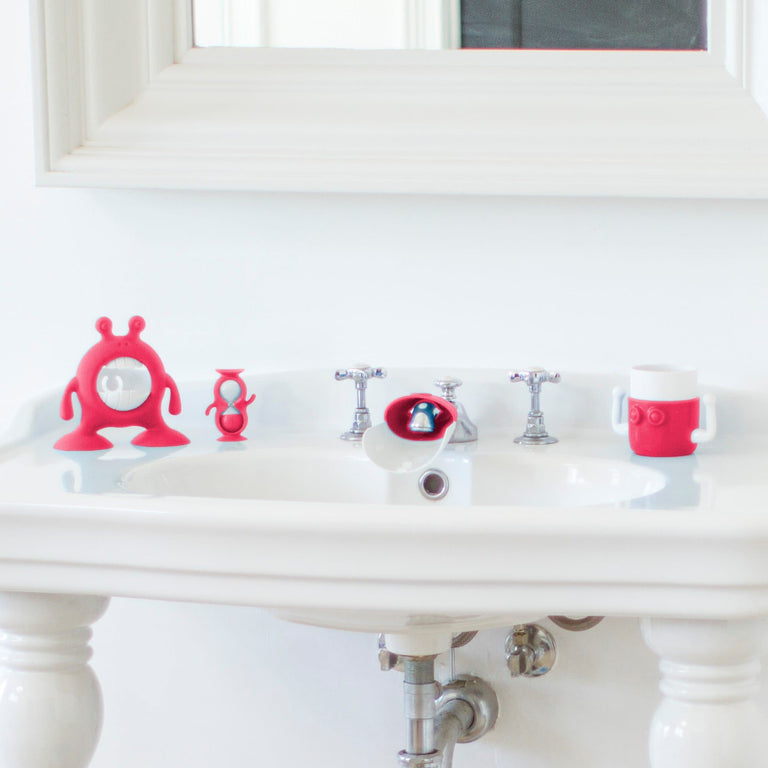 EYEFAMILY™ Bathroom Set Flashbulb Fuchsia