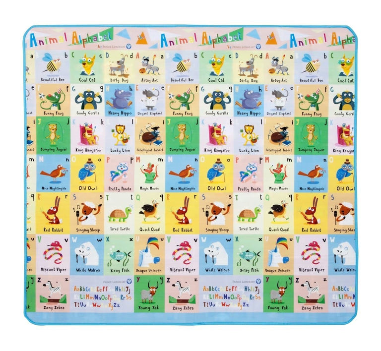 playMAT City and ABC Design___ Barcode: 049345000610 HTC: 9503009590 Unit Weight: 0.728kg. Volume: 0.027cbm. Country of origin: China - Prince Lionheart UK