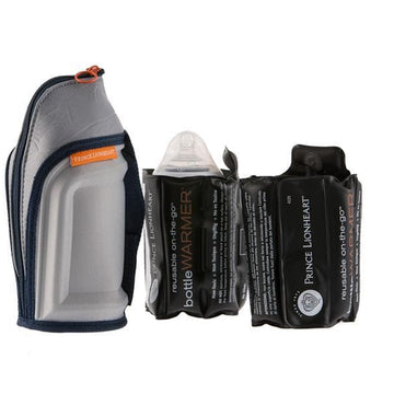 Reusable On-The-Go Bottle Warmer, 2 pouch pack___ Barcode: 049345042269 HTC: 3926909790 Unit Weight: 0.91kg. Volume: 0.003cbm. Country of origin: China - Prince Lionheart UK