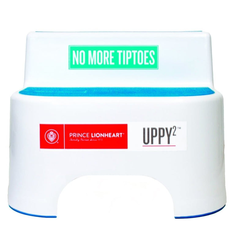 UPPY2™ Berry Blue___ 2 steps, non-slip top & feet Barcode: 049345004878 HTC: 3922-90-0000 Unit Weight: 0.79kg. Volume: 0.019cbm. Country of origin: China - Prince Lionheart UK