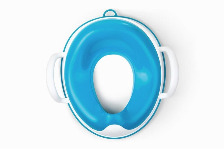 weePOD® Toilet Trainer Berry Blue___ With handles, plastic top & base Barcode: 049345001525 HTC: 3922-90-0000 Unit Weight: 0.45kg. Volume: 0.014cbm. Country of origin: China - Prince Lionheart UK