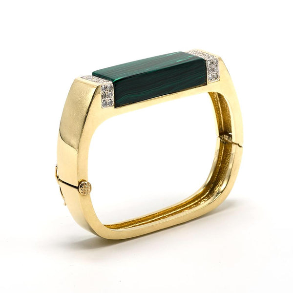 70's Malachite Bangle