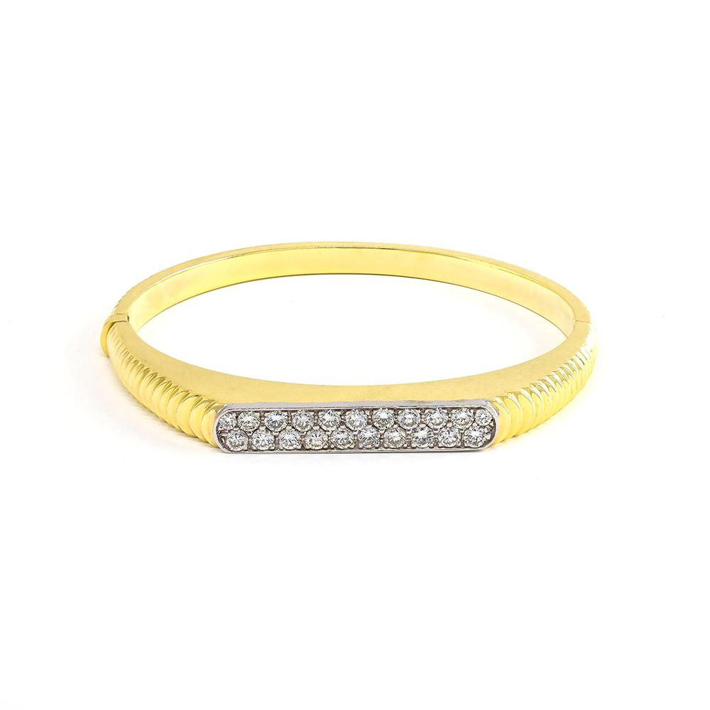Diamond Ridge Bangle