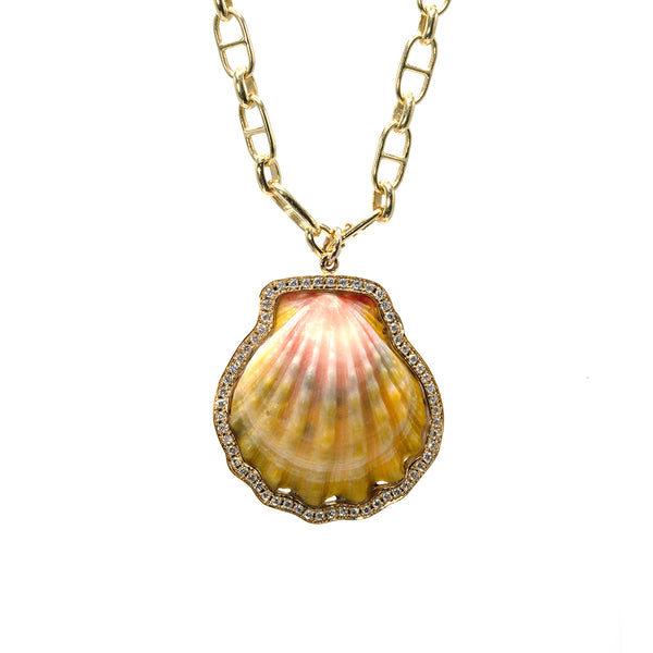 Medium Diamond Sunrise Seashell