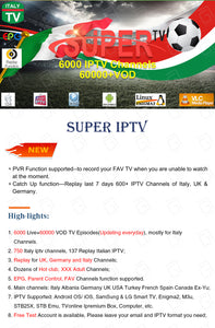 Super Italy IPTV control panel for IPTV resellers with credits contains 6000 Live VOD Italy Germany