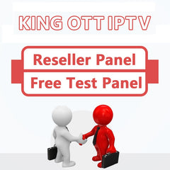 King OTT IPTV Panel Europe IPTV control panel with codes contains 7000+Live 8000+VOD for IPTV reseller French IPTV Spain Portugal Italy Canada Adult