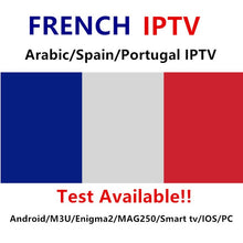 Load image into Gallery viewer, IPTV French channels