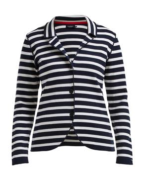 Pernilla Jacket Navy/ White Stripe - Island Outfitters