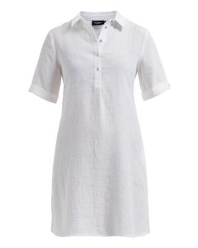 Nellie Tunic Dress White - Island Outfitters