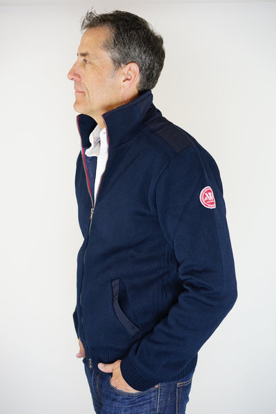 Gregor Windproof Full-Zip Navy - Island Outfitters