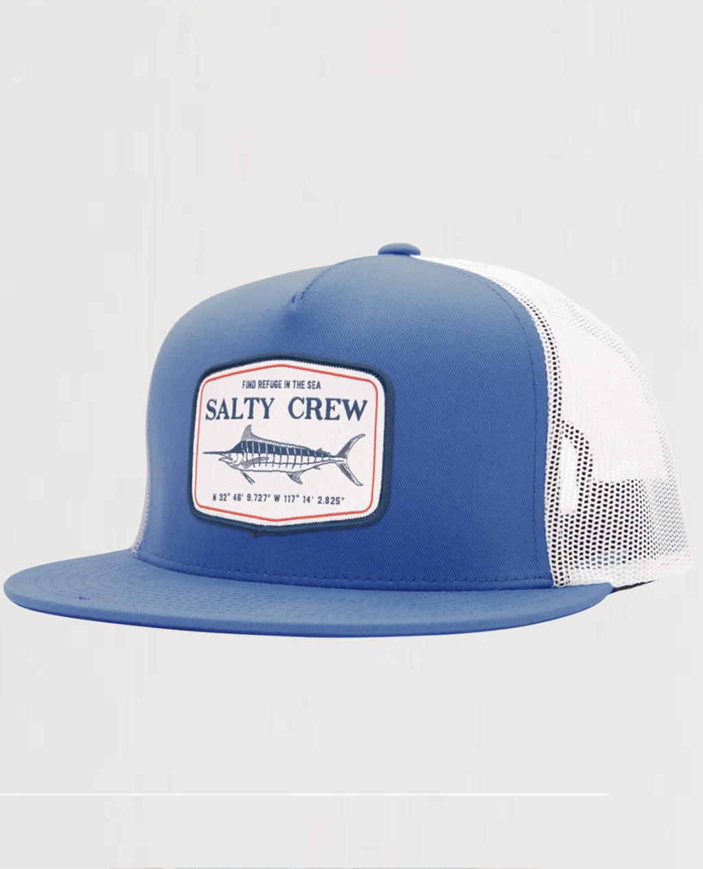 STEALTH ROYAL/WHITE TRUCKER - Island Outfitters