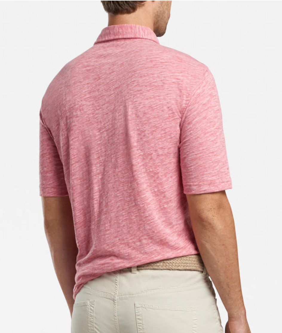 Hobe Slub Cotton-Blend Polo - Island Outfitters