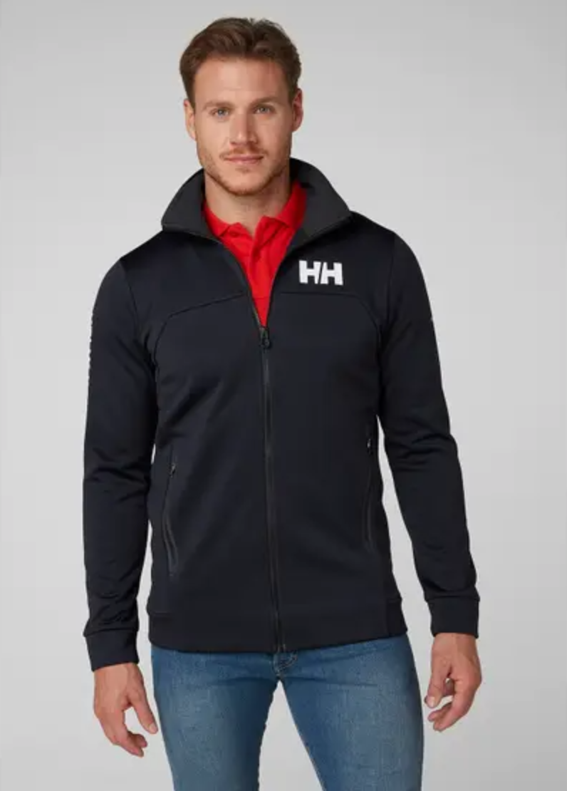 HP Fleece Jacket-Navy - Island Outfitters