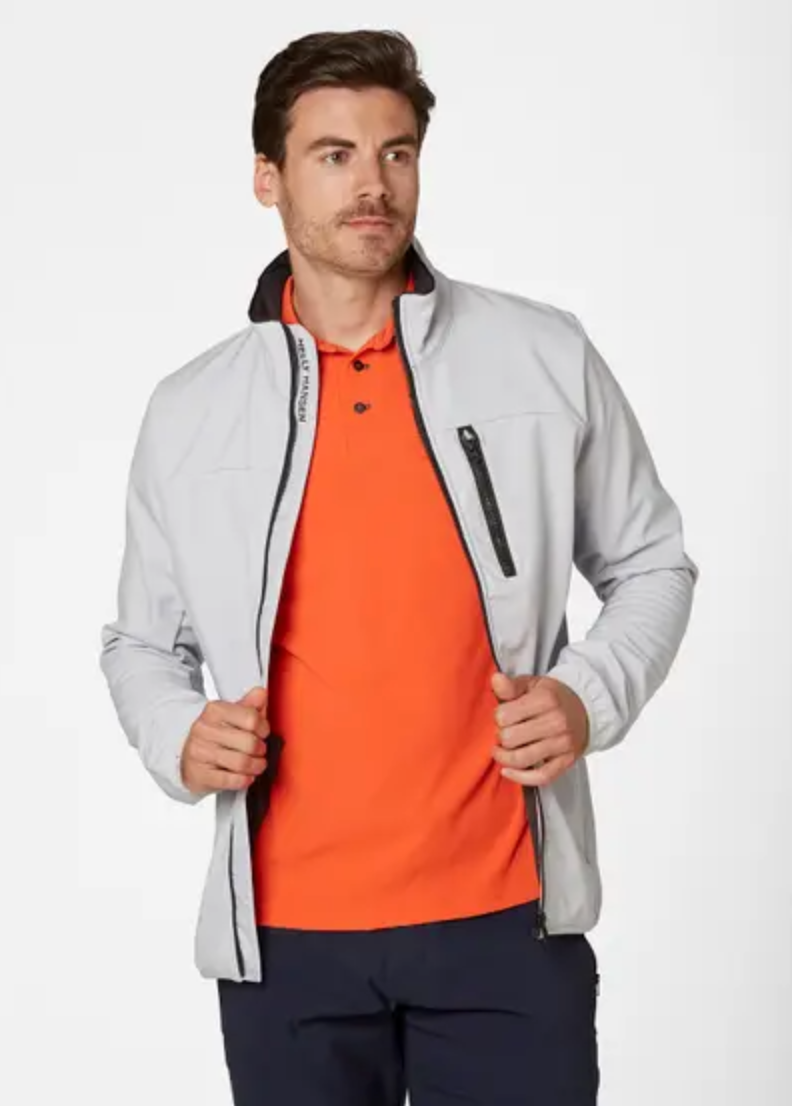 Crew Soft Shell Jacket-Grey Fog - Island Outfitters