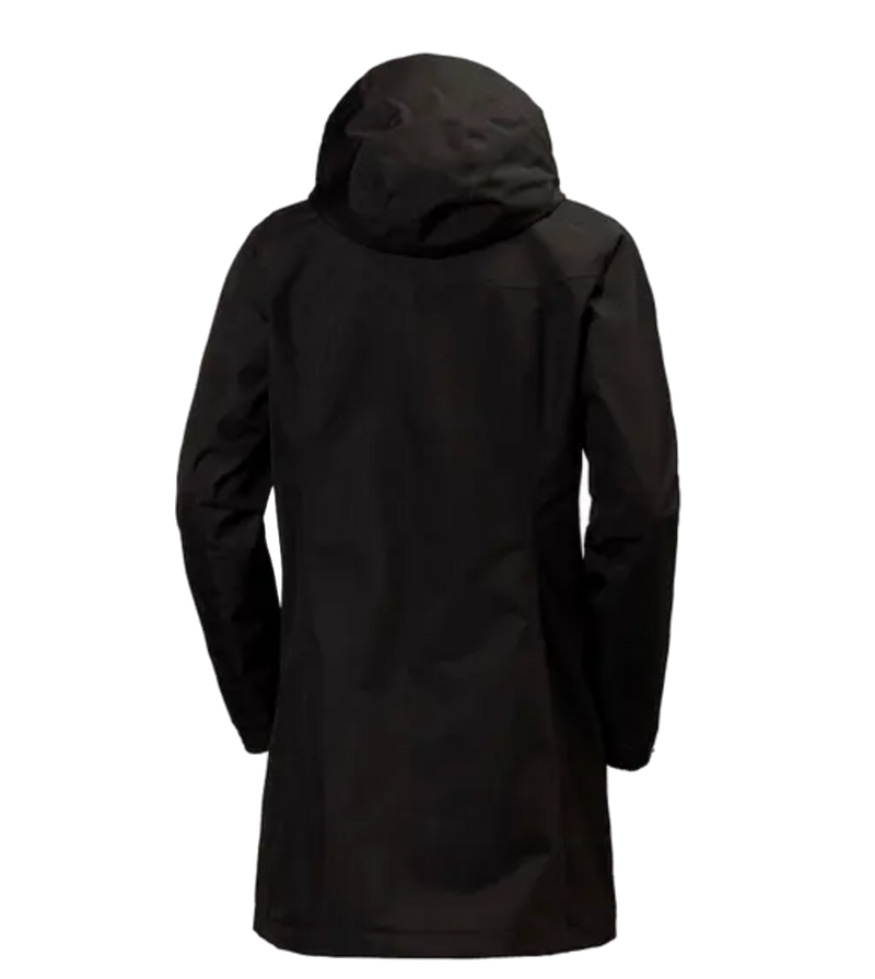 Aden Long Coat-Black - Island Outfitters