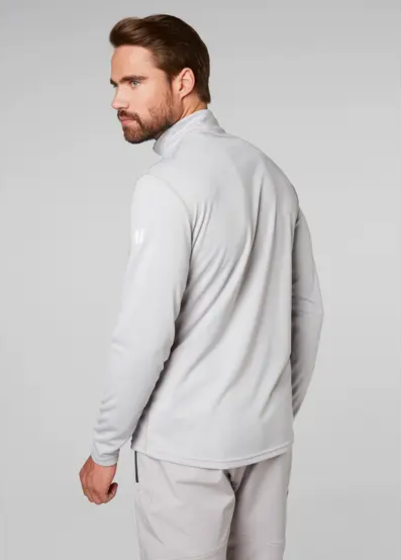 HH Tech 1/2 Zip-lt Grey - Island Outfitters