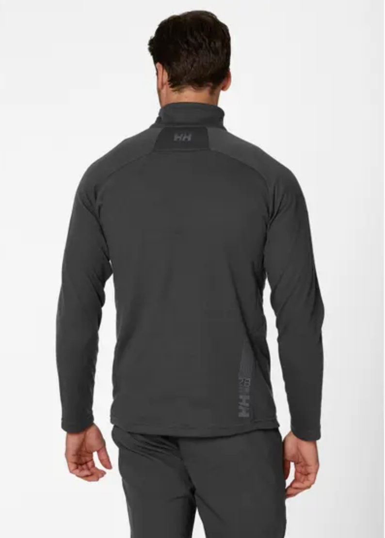 HP 1/2 ZIP Pullover-Ebony - Island Outfitters