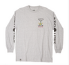 Tailed L/S- Athletic Heather - Island Outfitters