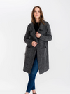 Baciano Florencia Coat-Charcoal - Island Outfitters