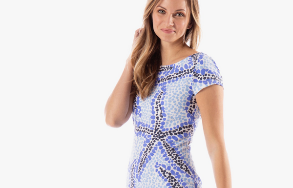 Addie T-Shirt Dress- Seaing Stars
