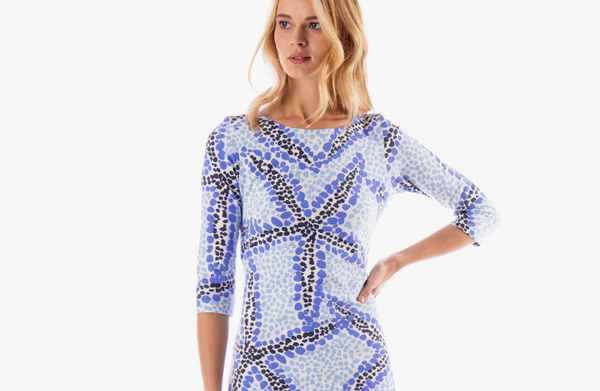 Bimini Boatneck Dress- Seaing