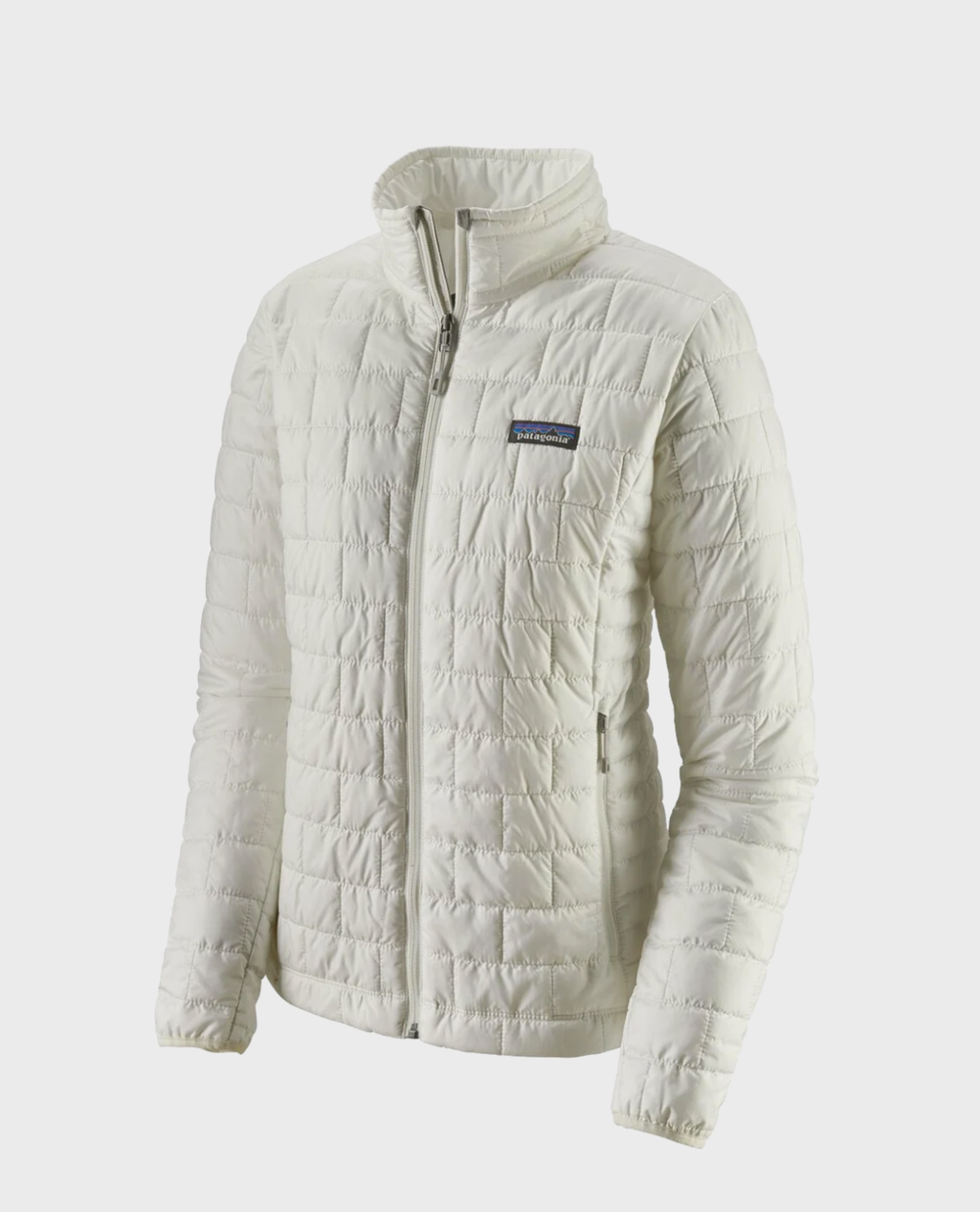 W's Nano Puff Jacket- Birch White - Island Outfitters