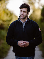 Classic 1/4 Zip Windproof -Navy - Island Outfitters