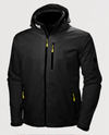 Crew Hooded Jacket-Black - Island Outfitters