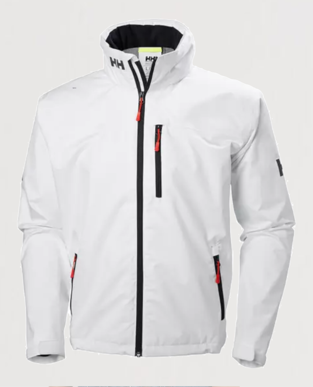 Crew Hooded Jacket - White - Island Outfitters