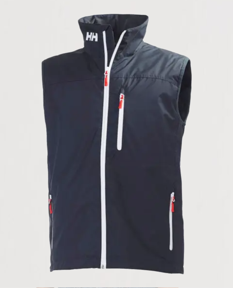 M's Crew Vest-Navy - Island Outfitters