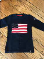 American Flag Sweater - Island Outfitters