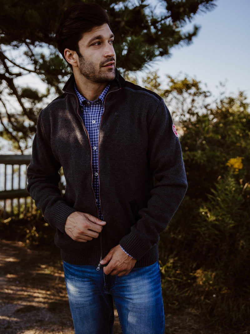 Gregor Full Zip Windproof -Antracite - Island Outfitters