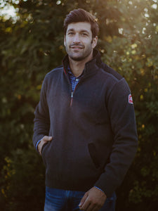 Gregor 1/4 Zip Windproof Antracite