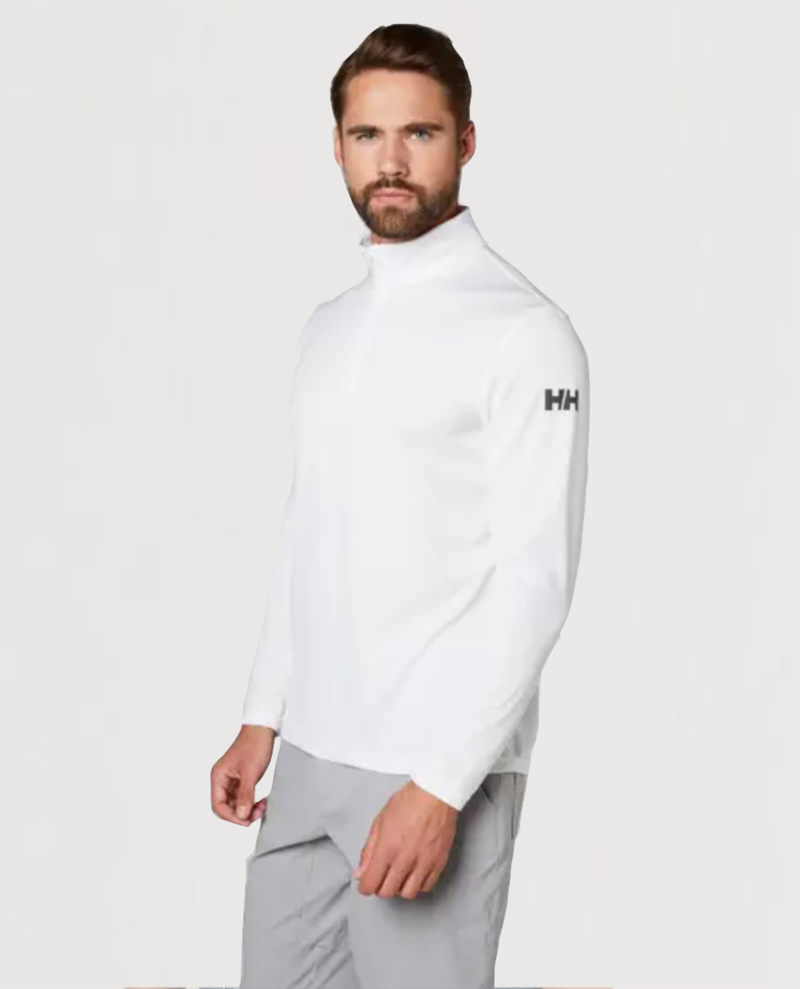 HH Tech 1/2 Zip-White - Island Outfitters