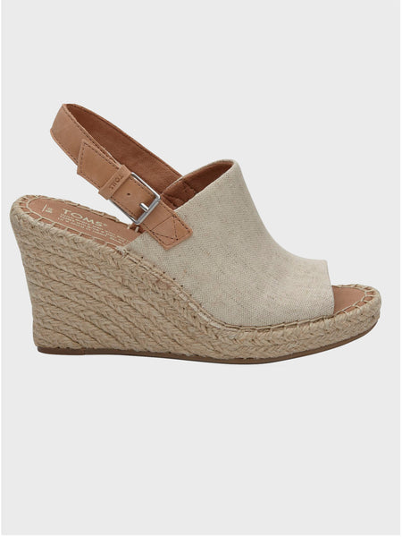 Natural Oxford Women's Monica Wedges