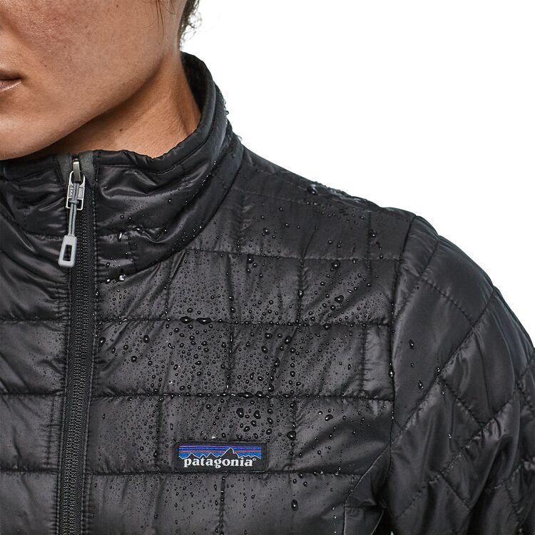 W's Nano Puff Jacket- Black - Island Outfitters