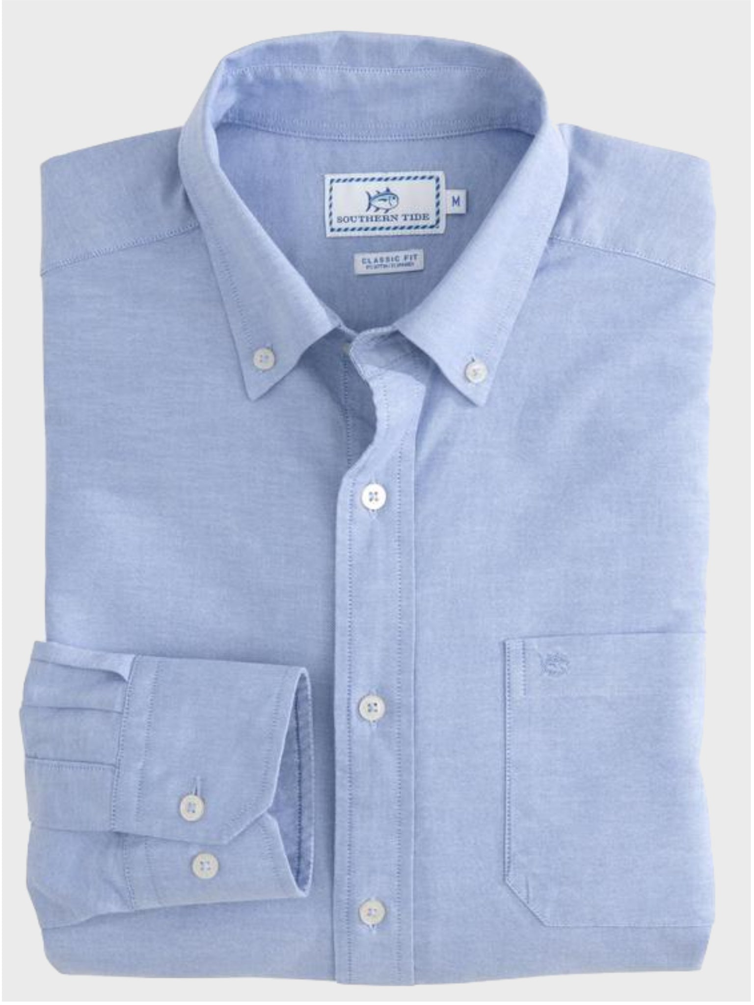 Channel Marker Oxford Button Down - Island Outfitters