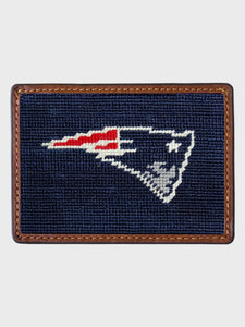 New England Patriots Needlepoint Card Wallet