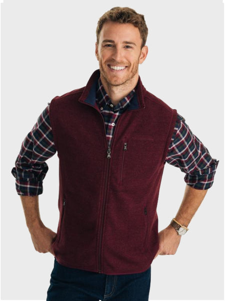 Samson Peak Sweater Fleece Vest - Island Outfitters