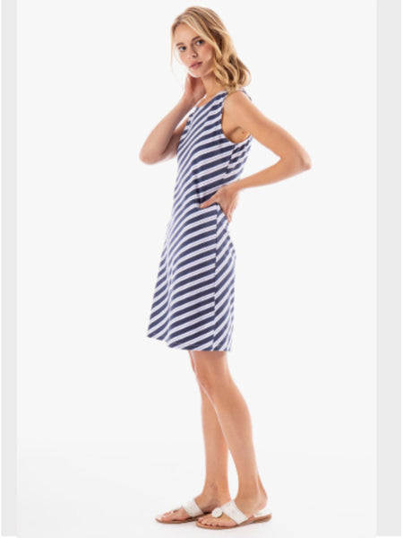 Seaview Shift Dress- Endless Summer Stripe