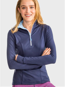 Skipjack Athletic 1/4 Zip -Nautical Navy - Island Outfitters