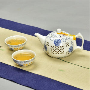 Exquisite Bone China Tea Set