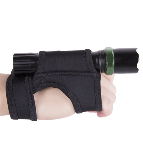 Soft Black Neoprene Hand Mount Wrist Strap