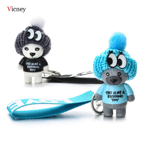 Cute Teddy Bear Key Chain