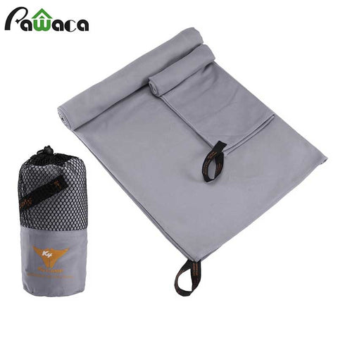 2 PCS/SET microfiber super absorbent travel towel
